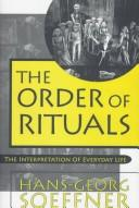 Cover of: The order of rituals