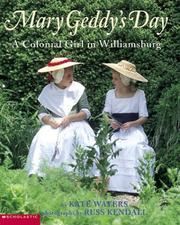 Cover of: Mary Geddy's Day