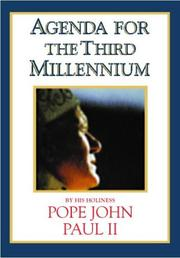 Cover of: Agenda for the Third Millennium