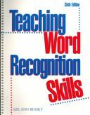 Cover of: Teaching word recognition skills