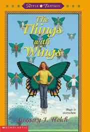 Cover of: The Things With Wings | Greg Holch