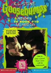 Cover of: Bad Hare Day (Goosebumps Presents TV Book #10)