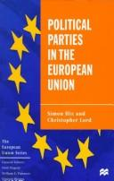 Cover of: Political parties in the European Union