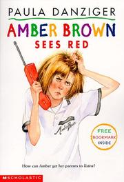 Cover of: Amber Brown Sees Red (Amber Brown)