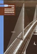 Cover of: Design of modern highway bridges by Narendra Taly