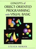 Cover of: Concepts of object-oriented programming with Visual Basic
