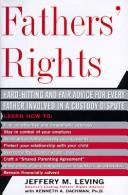 Cover of: Fathers' rights | Jeffery Leving