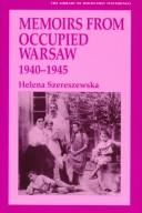Cover of: Memoirs from occupied Warsaw, 1940-1945
