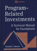 Cover of: Program-related investments