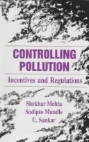 Cover of: Controlling pollution