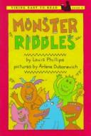 Cover of: Monster riddles
