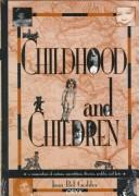 Cover of: Childhood and children
