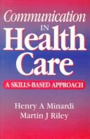Cover of: Communication in health care