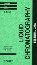 Cover of: Liquid chromatography
