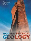 Cover of: Modern physical geology | Graham R. Thompson
