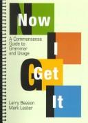 Cover of: Now I get it