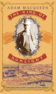 Cover of: King of Sunlight | Adam Macqueen