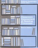 Cover of: Classroom assessment of reading processes