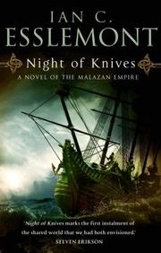 Cover of: Night of Knives | Ian C. Esslemont