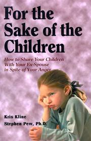 Cover of: For the sake of the children