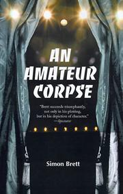 Cover of: An Amateur Corpse | Simon Brett