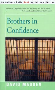Cover of: Brothers in confidence