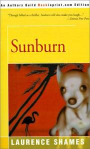 Sunburn by Laurence Shames