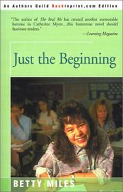 Cover of: Just the Beginning