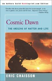 Cover of: Cosmic Dawn | Eric J. Chaisson