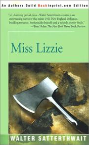 Miss Lizzie by Walter Satterthwait