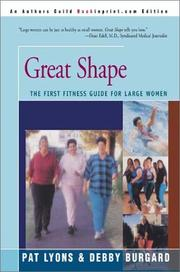 Cover of: Great Shape | Pat Lyons