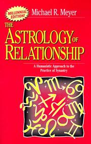 Cover of: The Astrology of Relationship