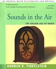 Cover of: Sounds in the air