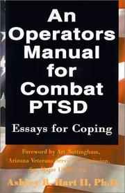 Cover of: An Operators Manual for Combat PTSD | Ashley B., II Hart