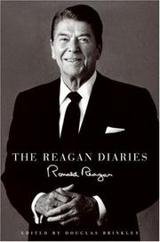 Cover of: The Reagan Diaries
