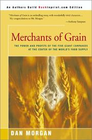 Cover of: Merchants of Grain | Dan Morgan
