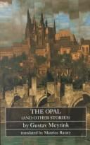 Cover of: The opal, and other stories
