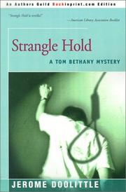 Cover of: Strangle Hold (Tom Bethany)