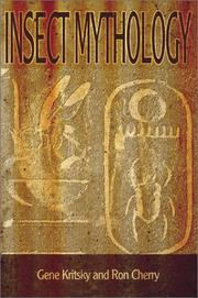 Cover of: Insect Mythology | Gene Kritsky