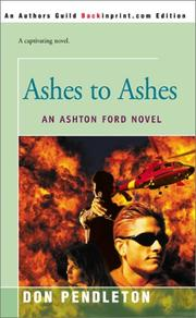 Cover of: Ashes to Ashes: An Ashton Ford Novel (Ashton Ford)