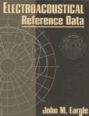 Cover of: Electroacoustical reference data | John Eargle