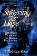 Cover of: Suffering and hope