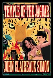 Cover of: Temple of the Jaguar | John Simon