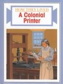 Cover of: A colonial printer