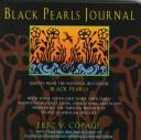 Cover of: Black pearls journal