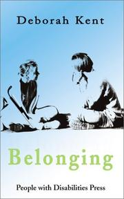 Cover of: Belonging: a novel