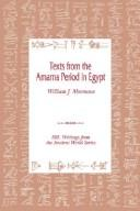 Cover of: Texts from the Amarna Period in Egypt