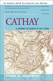 Cover of: Cathay | Fergus M. Bordewich