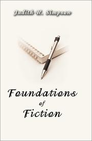 Cover of: Foundations of Fiction | Judith Simpson