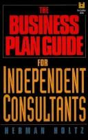 Cover of: Business plan guide for independent consultants